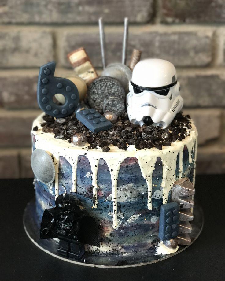 Starwars drip cake