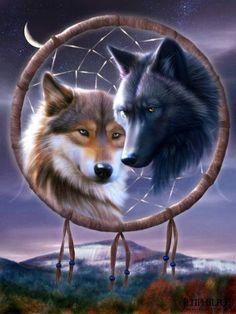 Wolves galore!! on Pinterest