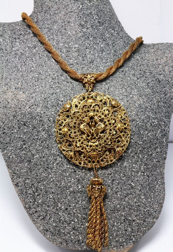 Phoenix Medallion Zodiac Necklace Vintage Tel Necklaces For Women Gold Birthday Gifts Jewelry Asian Statement