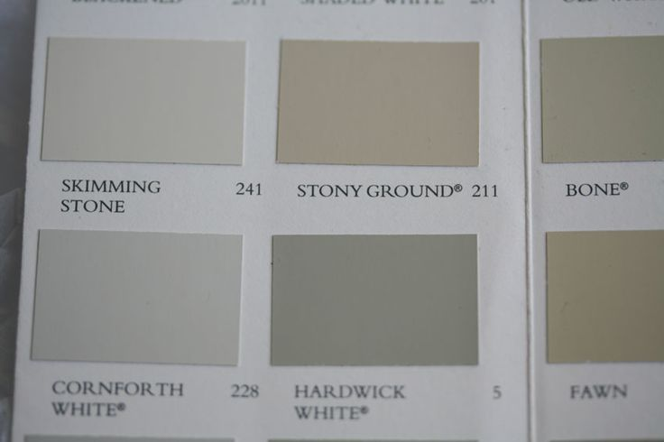 paint color stony ground from farrow skimming