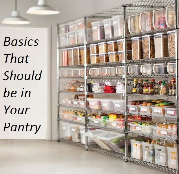 Effective Pantry Shelving Designs For Well Organized: Basics That Should Be In Your Pantry