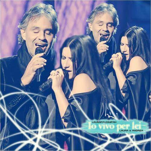 from the vivo per lei andrea bocelli laura pausini official video info This
