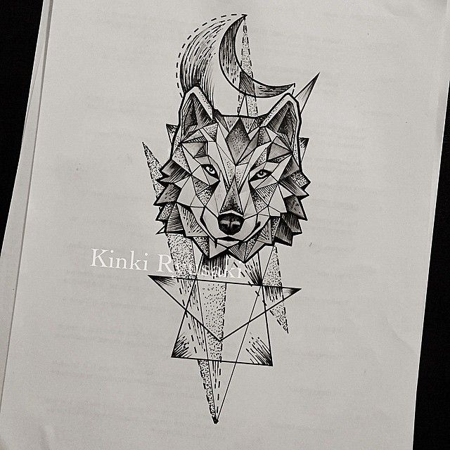 Best 25 Wolf Tattoos Ideas On Pinterest: Die Besten 25+ Geometrischer Wolf Ideen Auf Pinterest