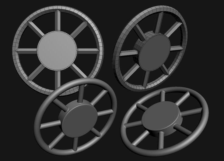 FAQ: How u model dem shapes? Subd mini-tuts AKA USE THE RIGHT AMOUNT OF GEO - Page 219 - Polycount Forum