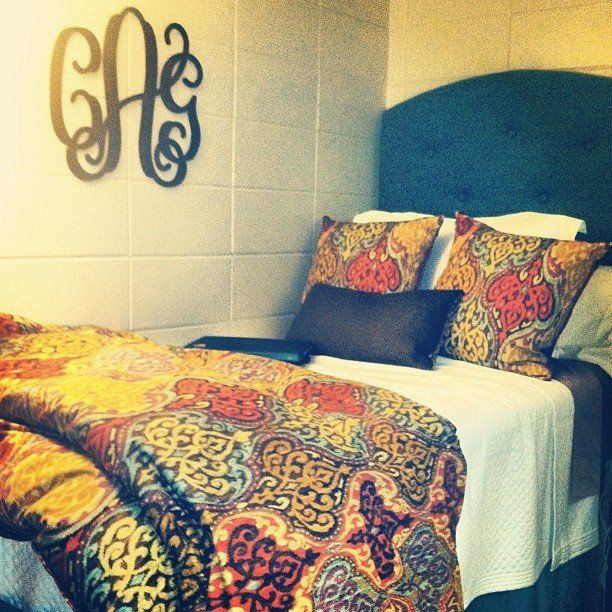 An Eclectic College Dorm Room Inspiration Residential