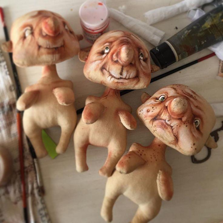 Обожаемые процессики!!рождение куколок#doll #art #dollstagram #рождениекуклы