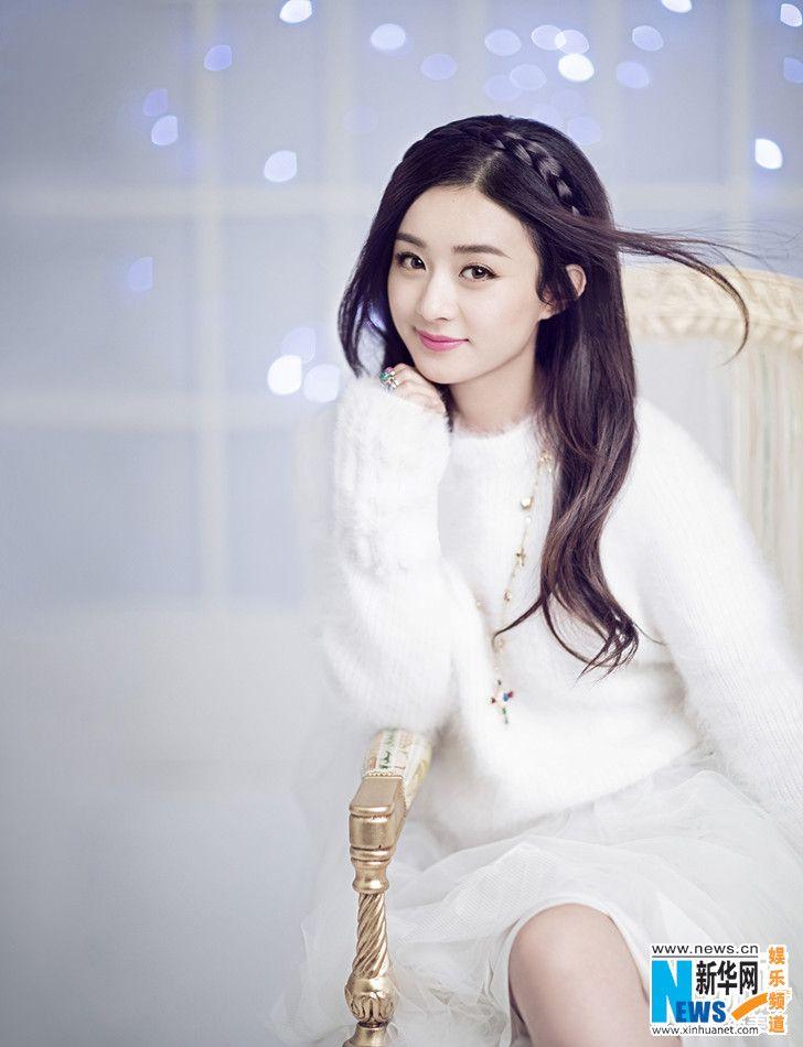 Chinese actress Zhao Liying  http://www.chinaentertainmentnews.com/2015/11/actress-zhao-liying-graces-rayli.html