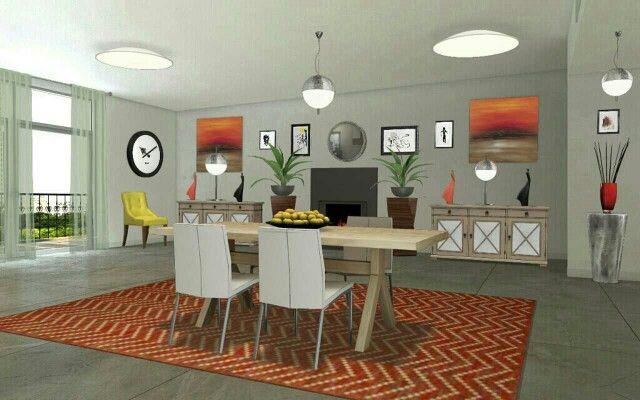 Okay, I enjoy designing dining rooms