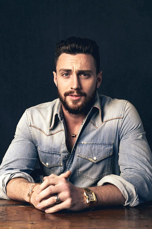 Aaron Taylor-Johnson poses for the Variety and Shutterstock Portrait Studio at the Toronto International Film Festival in Canada on September 11, 2016.