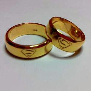 cincin tunangan perak sepasang couple nikah CPG2171