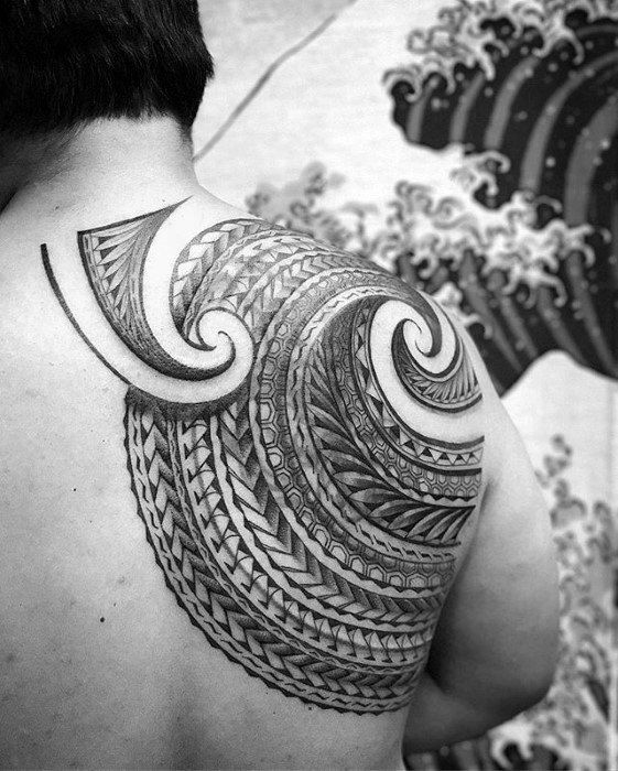 1d581dcec 50 Badass Tribal Tattoos For Men - Manly Design Ideas | Polynesian ...