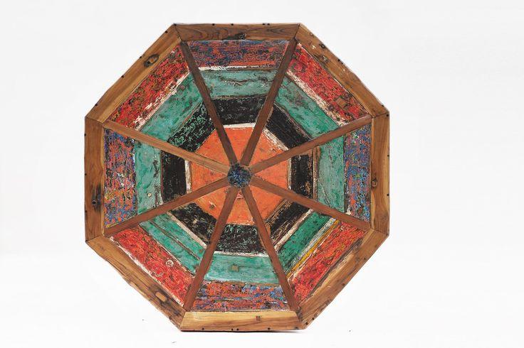 Les 63 meilleures images propos de meubles en bois de for Table exterieur octogonale