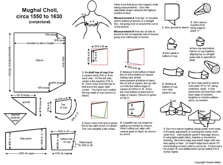 Google Image Result for http://www.feoragdubh.eastkingdom.org/Patterns/choli203.gif  Might try to replicate this!