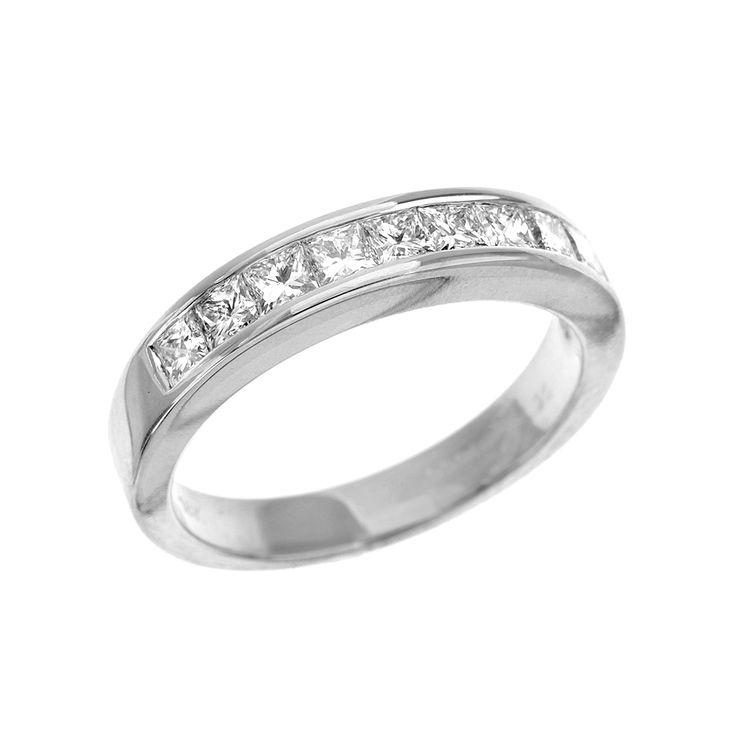 15 best Diamond set Wedding Rings images on Pinterest | Wedding ...