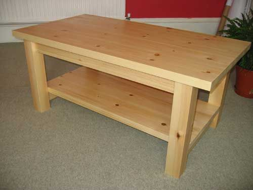 Pine Coffee Table As Lift Top On Nesting The Lovely Grey Tables