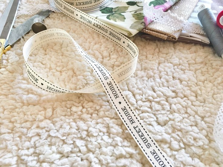 A personal favorite from my Etsy shop https://www.etsy.com/listing/494886896/1-metre-vintage-ribbon-home-sweet-home
