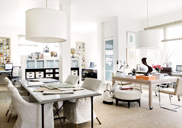 gorgeous office of interior designer @Suzanne Kasler