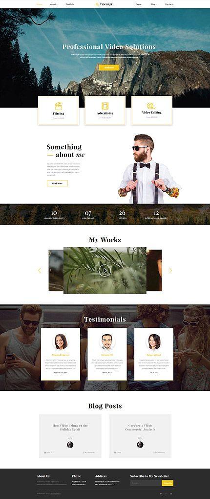 1010 besten Website templates Bilder auf Pinterest | Website ...