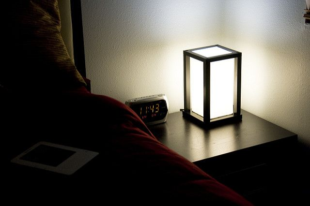 bedroom night table lamps