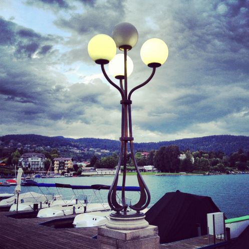 One of my favourite picture of #Velden in Carinthia