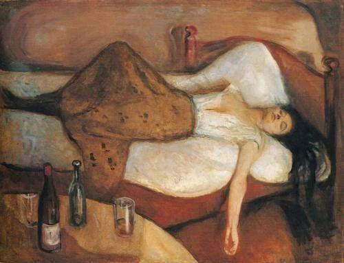 """""""Al día siguiente"""", de Munch (1895)"""