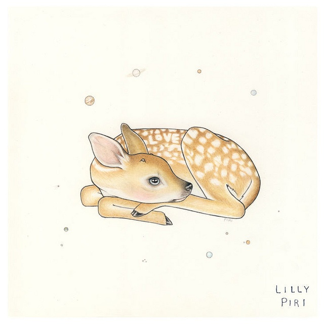 {Love fawn} by Lilly Piri