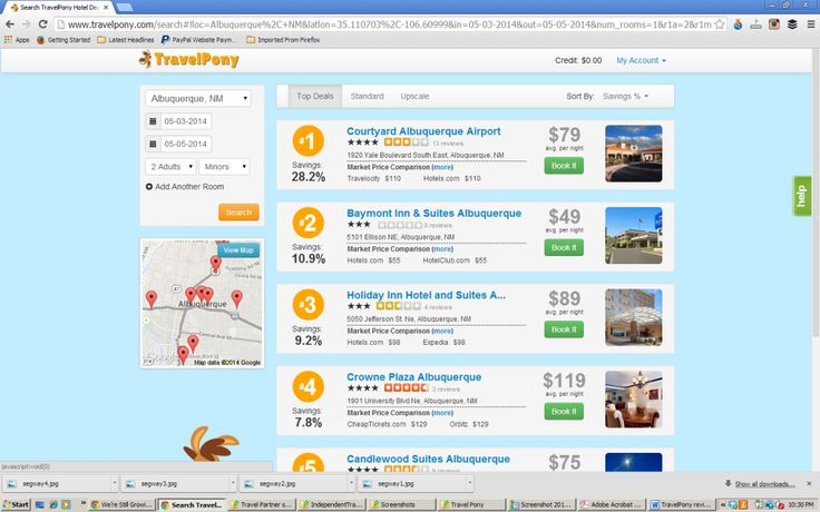 TravelPony - A hotel booking website that can save you a lot of money on accomodations!