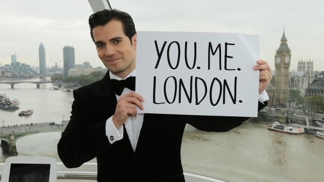 Henry Cavill wants YOU to join him in London!