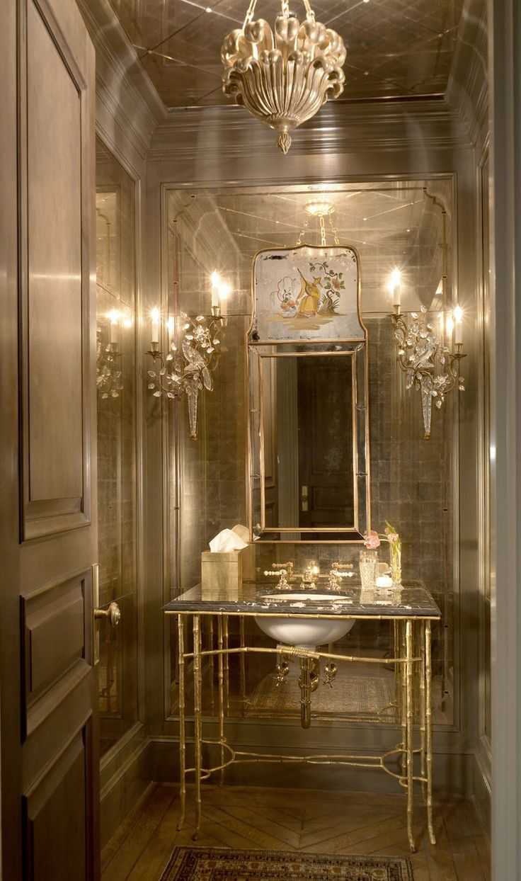 Lake Shore Drive Penthouse  Bath  TraditionalNeoclassical by Jessica Lagrange Interiors