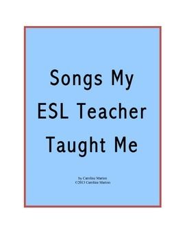 Freebie! Check out my top 21 list of fun songs to help you teach English! Includes suggested songs for the beginning/end of the year, vocabulary, verb tenses, and other special occasions. ESL 7th-12th gr.