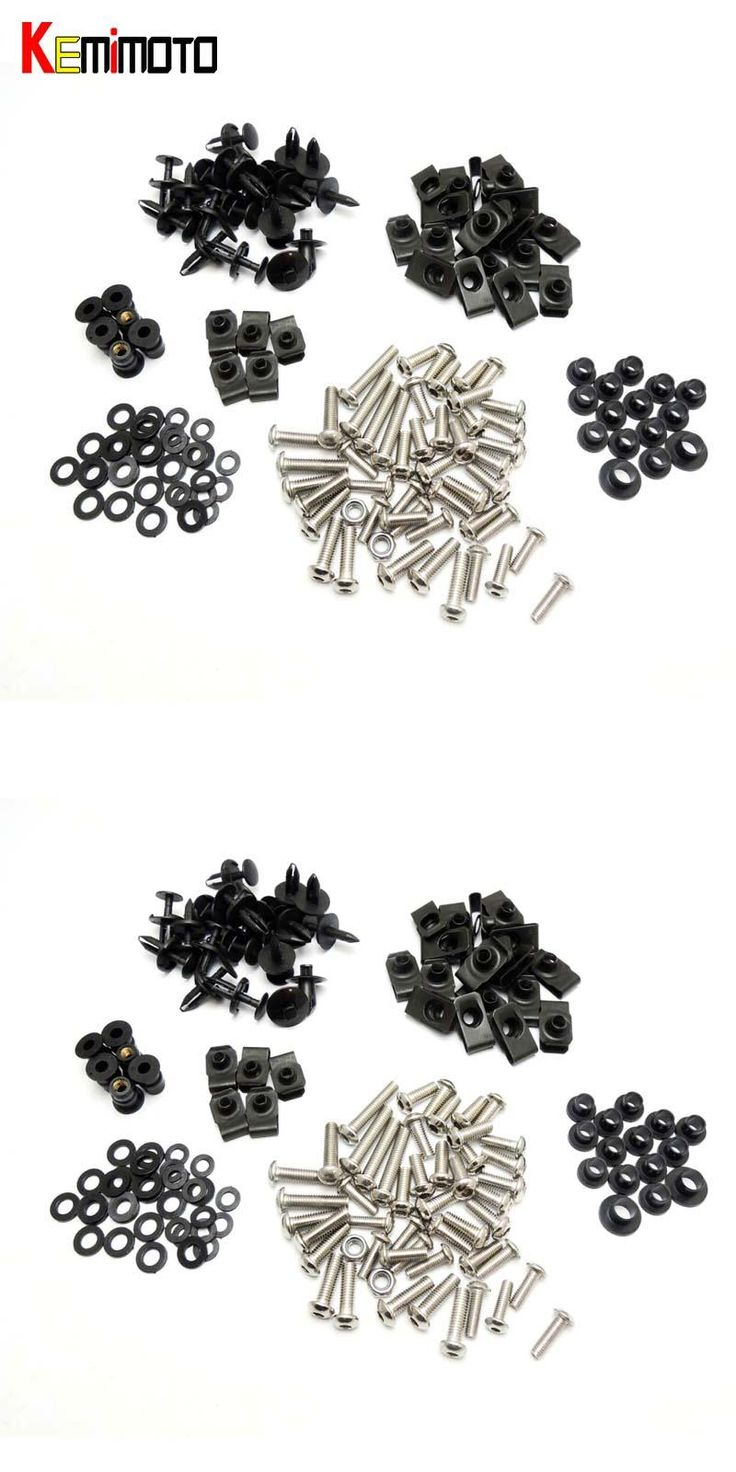 [Visit to Buy] KEMiMOTO Motorcycle Fairing Bolt Screw Nuts Washers Fastener Fixation for Yamaha YZF R1 2004 2005 2006 Complete Kit  #Advertisement