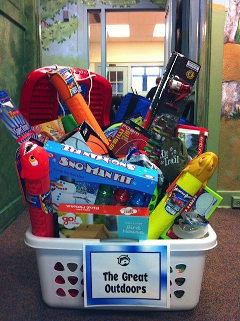Classroom Theme Basket Ideas ~ Fourth grade fun fair basket raffle the great