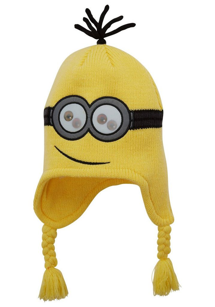 DESPICABLE ME ~ Knitted Hat