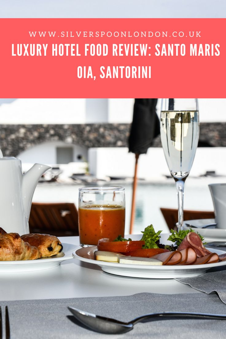 Santorini Sunsets, Salads and Seafood: Food at Santo Maris Oia Luxury Suites & Spa - SilverSpoon London