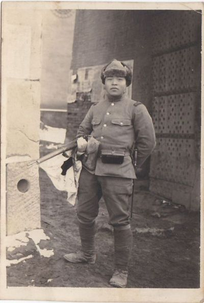 d13dd66a23a A Japanese Army soldier