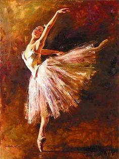 bailarinas de ballet al oleo - Buscar con Google