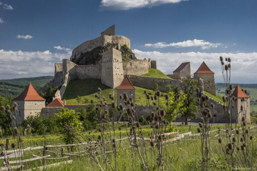 The Rupea fortress is one of the most beautiful medieval castles...