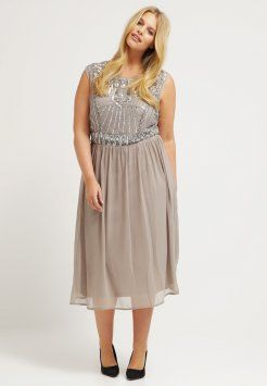 Frock and Frill Curve - MARGOT - Cocktailkjole - grey
