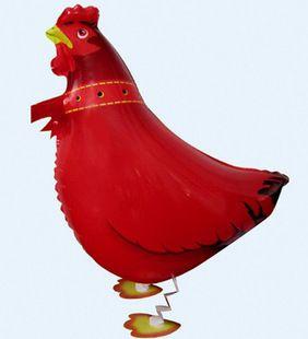 Ходьба животных воздушный шар куриное баллоны 10 шт./лот феста сафари надувные baloes для детей день рождения ну вечеринку 61 X 41 см