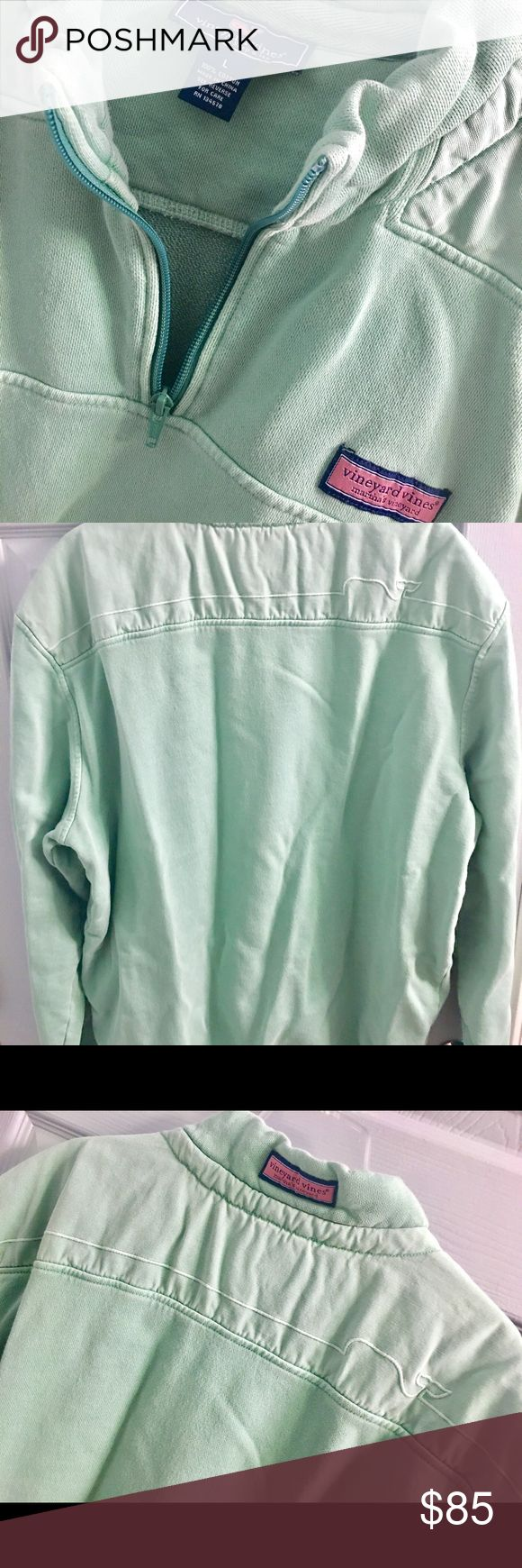 Vineyard Vines Mens Pullover Jacket Large LIKE NEW Vineyard Vines Mens Shep Shirt 1/4 Zip Pullover Jacket. Size Large. Excellent, Like New condition. Vineyard Vines Shirts Sweatshirts & Hoodies