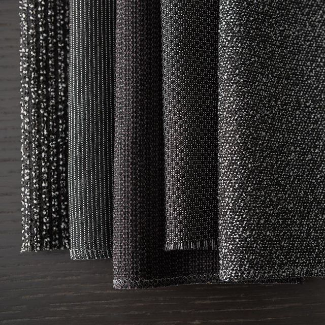 New Black is an elegant, sustainable collection of upholstery fabrics created through an innovative closed loop recycling process and designed for future recycling.