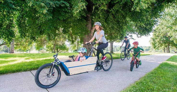 The Lift kit mods pushbikes to cargo bikes and back again #Bikes, #Family, #Kickstarter, #LiftCargoBike, #Outdoor