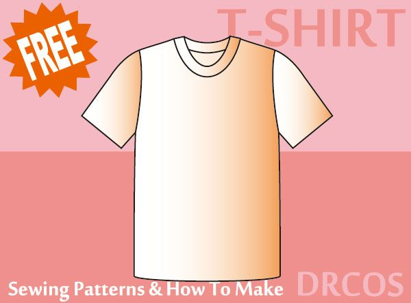 tshirt sewing patterns & how to make