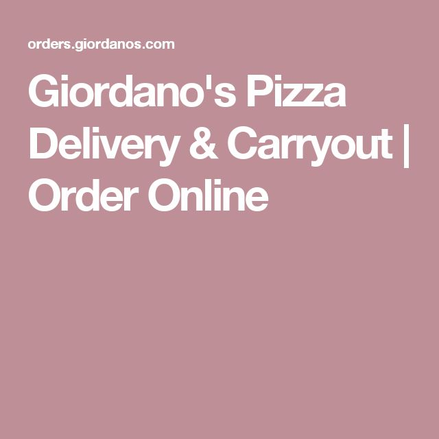 Giordano's Pizza Delivery & Carryout | Order Online