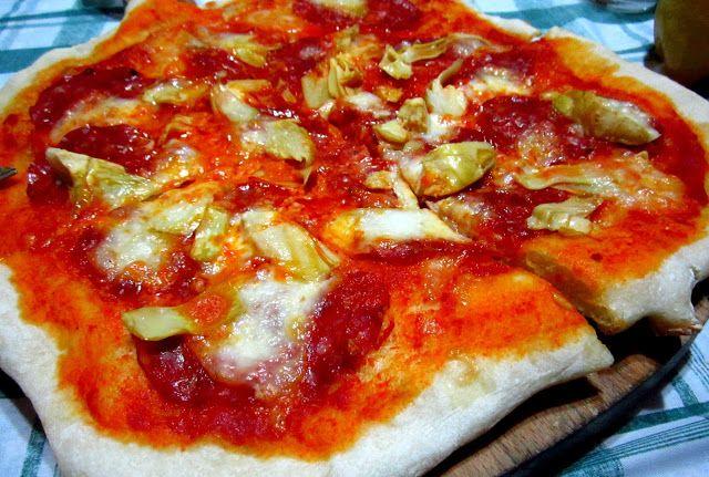 Facili Idee: PIZZA FATTA IN CASA FACILE E VELOCE