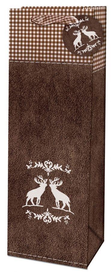 Dárková taška na láhev - Silver Deer č. 215516 TB