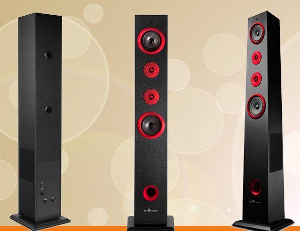 Escucha tu música favorita con la Torre de Sonido 2.1 Energy Sistem TS5 a un precio increíble! 74€!!! http://www.adicter.com/torre-de-sonido-energy-ts5-2.1-bluetooth/y,28