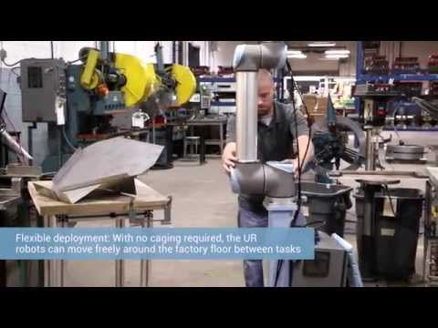 A mobile fleet of collaborative robots from Universal Robots now receive daily work orders to solve ever-changing tasks with high mix - low volume electronics manufacturer Scott Fetzer Electrical Group (SFEG) in Tennessee. The collaborative robots have optimized production by 20 percent, taking over monotonous and potentially hazardous tasks from employees now reallocated to more rewarding jobs.