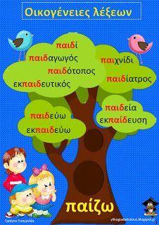 Teachers Aid: Οικογένειες λέξεων