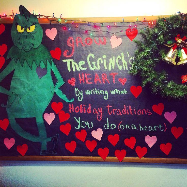 The Grinch Bulletin board
